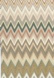 Missoni Home 01 Wallpaper Zig Zag Multicolore 10065 By JV Wallcoverings For Brian Yates
